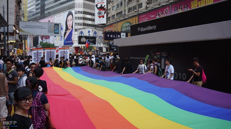 Hong Kong gay rights: British lesbian wins spousal visa case