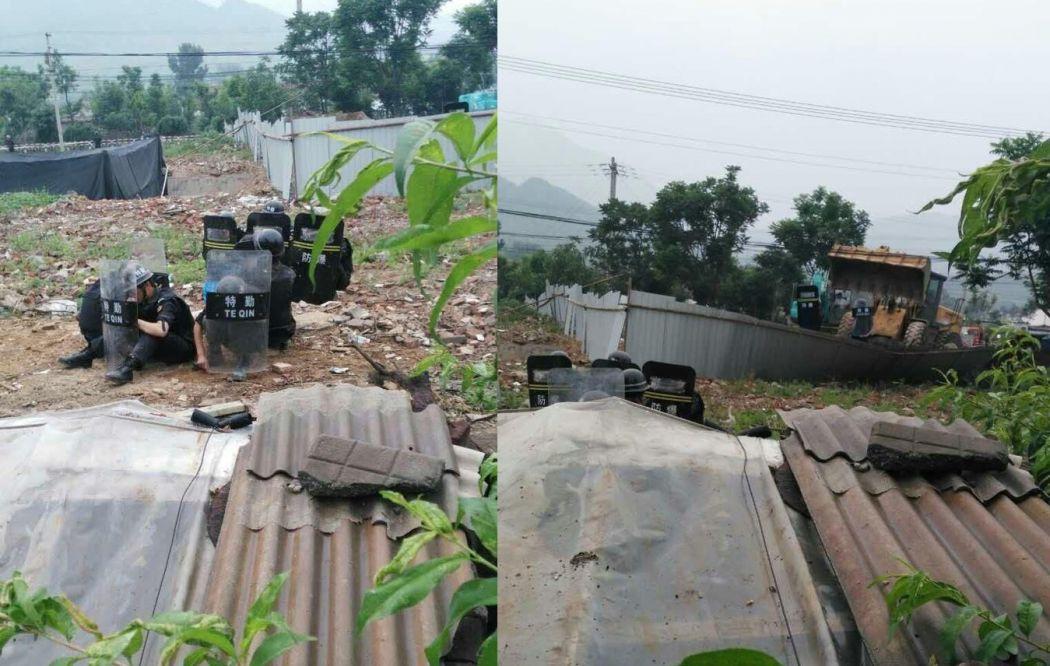 beijing forced demolition