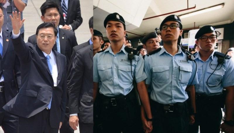 zhang dejiang police