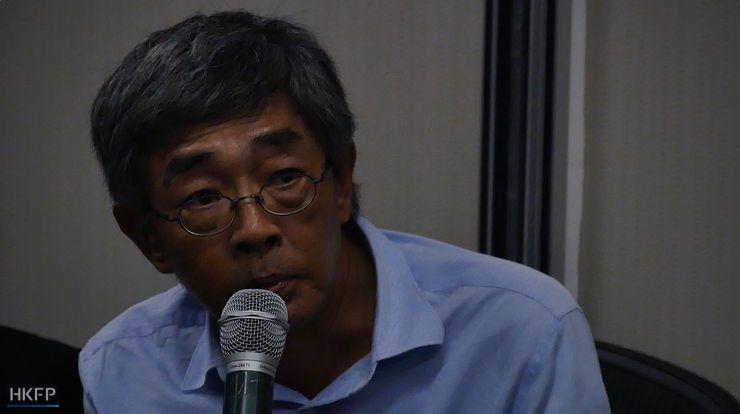Lam Wing-kee. Photo: Gene Lin/HKFP.