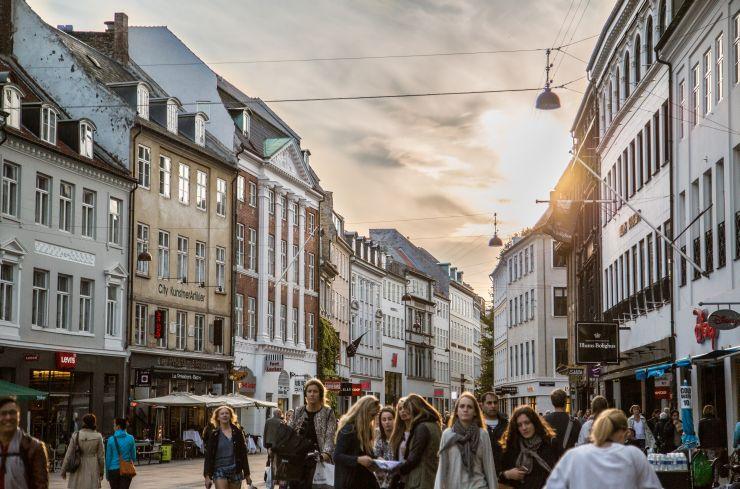 A street in Copenhagen, Denmark