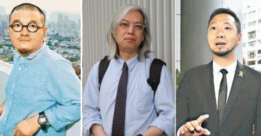 Shiu Ka-chun Yip Kin-chung Ken Tsang