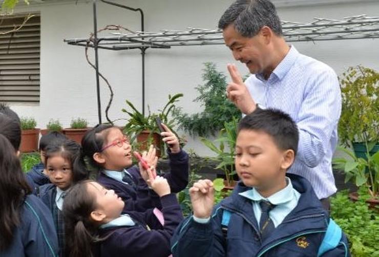Leung chun-ying children