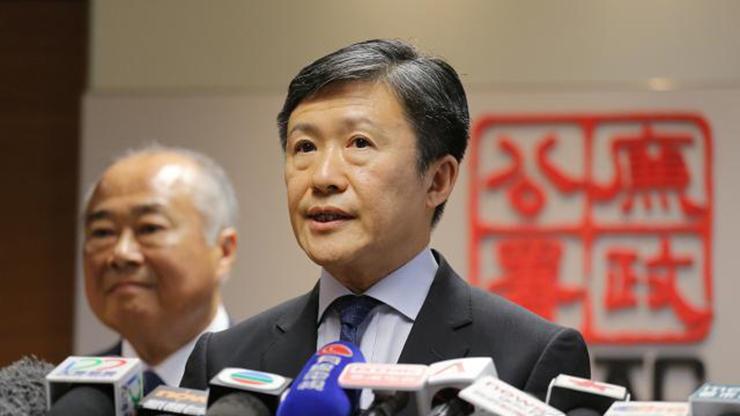 ICAC commissioner Simon Peh