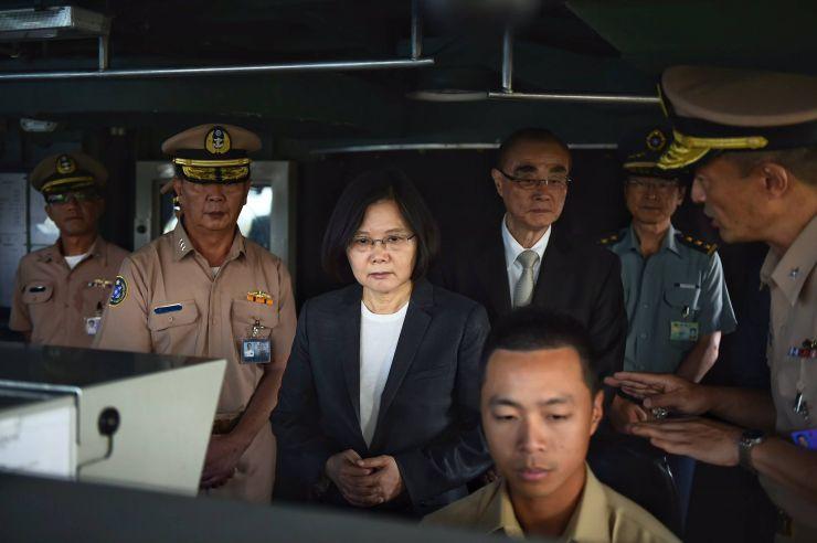 taiwan south china sea disputed islands