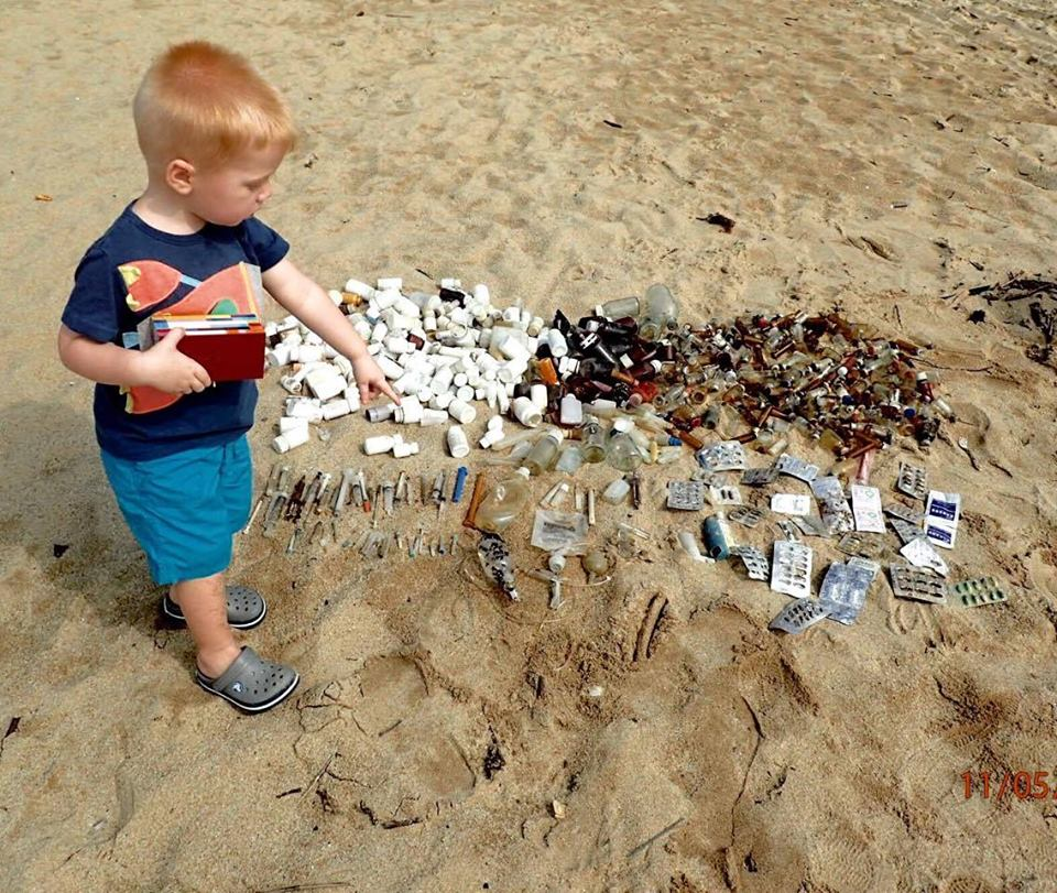 medical waste child