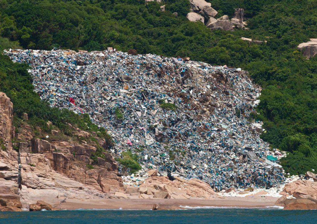 hong kong trash