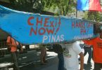 Filipino, fishermen, protest, China, embassy