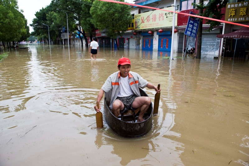 shanghai flooding