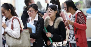university students china