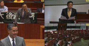 cy leung Q&A session