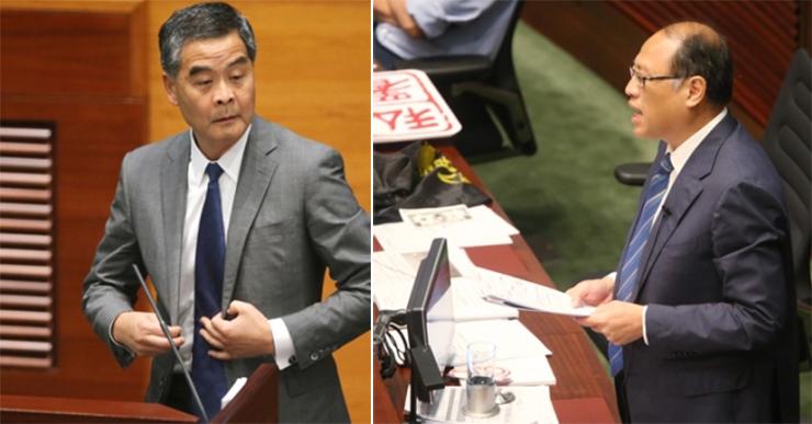 Leung Chun-ying Lam Tai-fai