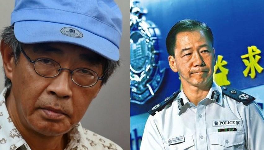 Lam Wing-kee and Tony Wong Chi-hung