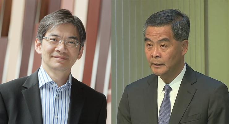 Leung Ka-lau Leung Chun-ying