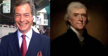 thomas jefferson nigel farage
