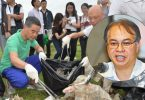 cy leung marine trash