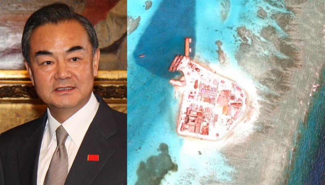 wang yi south china sea