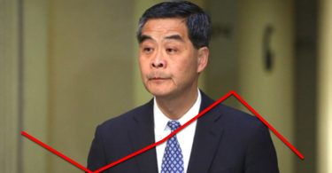 cy leung approval rating drops