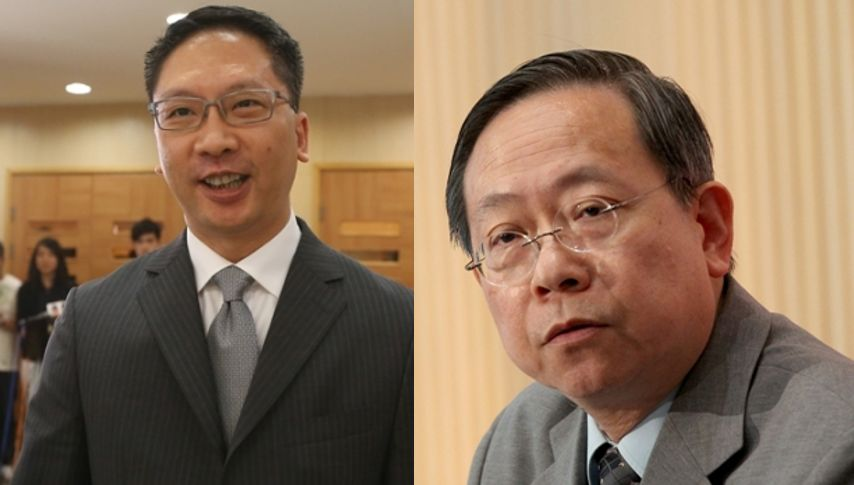 Rimsky Yuen and Lai Tung-kwok