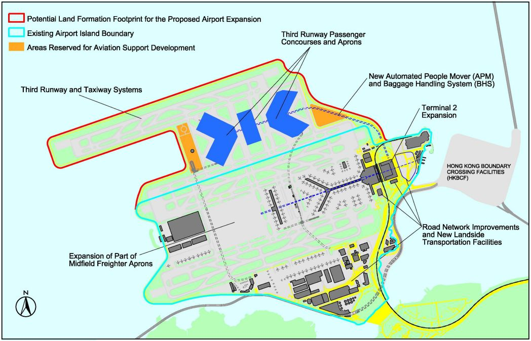 proposed runway