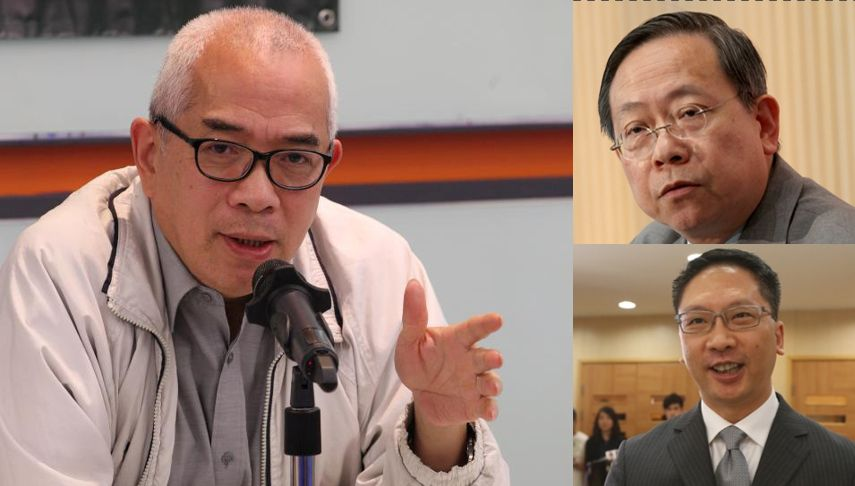 Rimsky Yuen Lai Tung-kwok Ching Cheong