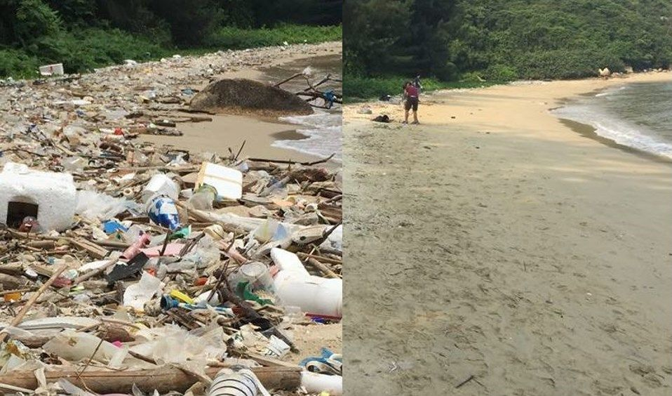 discovery bay beach clean up