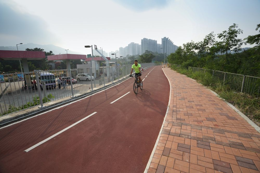 new territories cycling track