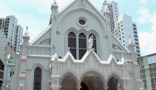 cathedral of hong kong
