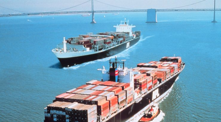seagoing commercial vessels