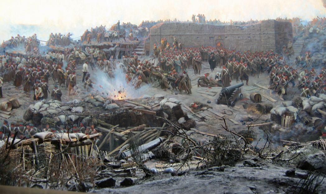 detail frank roubaud siege of sevastopol