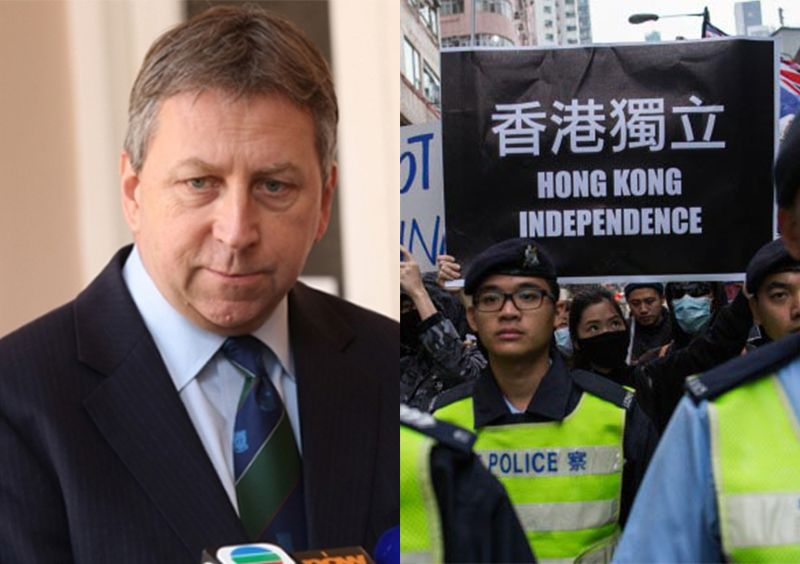 peter mathieson and hk independence