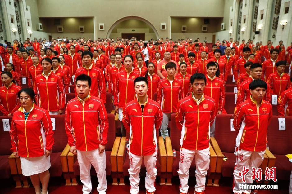 members of the chinese olympic team