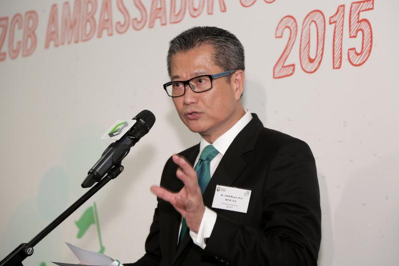 Secretary of Development Paul Chan Mo-po. File Photo: GovHK.