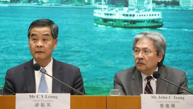 Wang Chau press conference