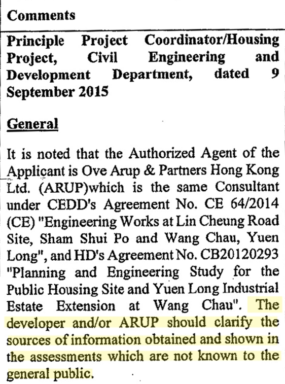 wang chau new world development arup