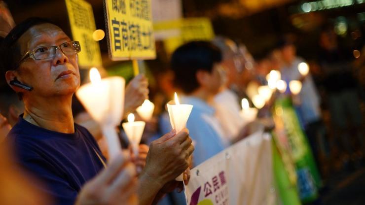Wukan solidarity protest