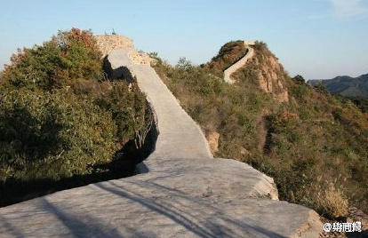 Section of Great Wall of China marred in name of restoration