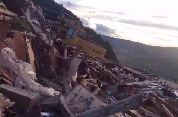 larung gar demolitions