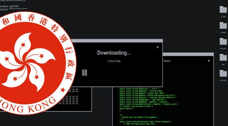 hacked hong kong government