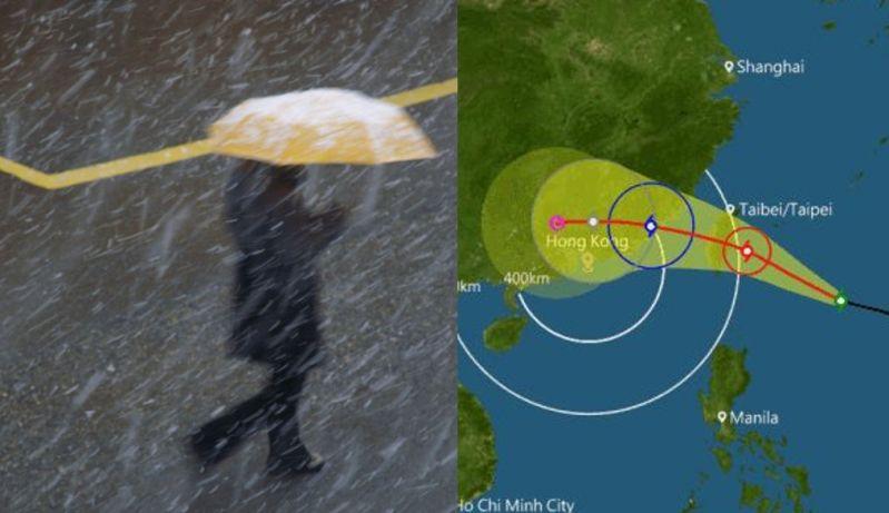 typhoon megi track