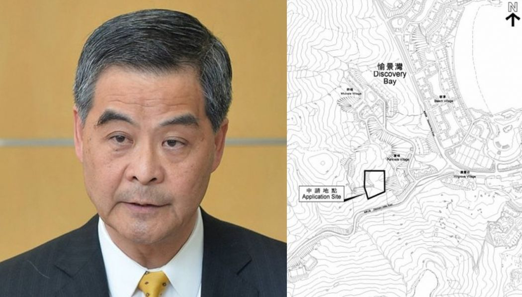 cy leung discovery bay