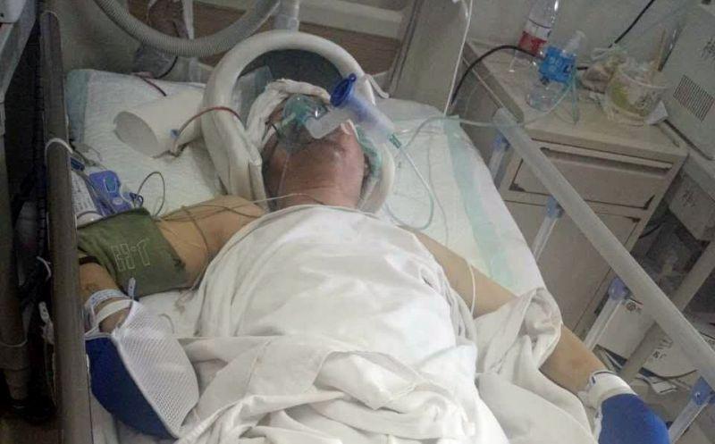 Xi Wangli in hospital