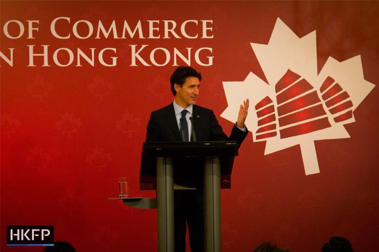 Canada PM says spoke with China's Xi about human rights