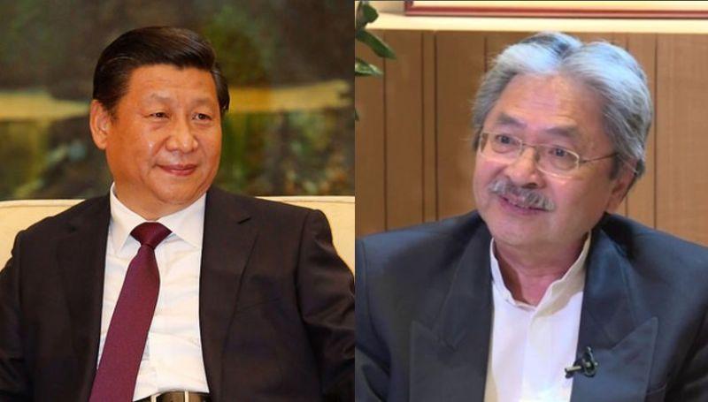 Xi Jinping John Tsang