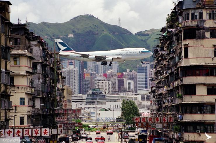cathay 747 kai tak