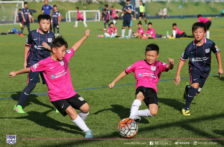 kitchee football youth training