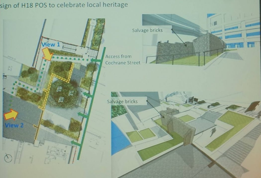 Cochrane Street central urban renewal