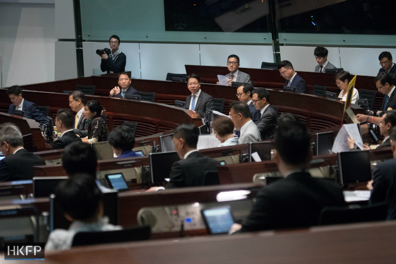 legco meeting