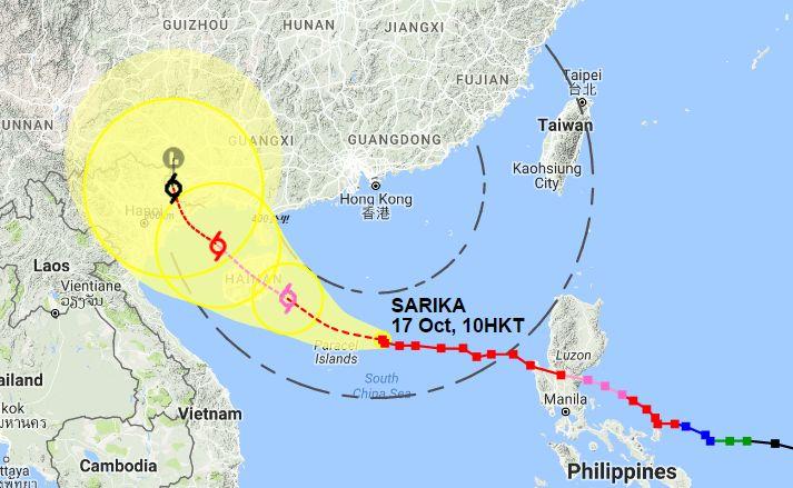 sakira nearing HK