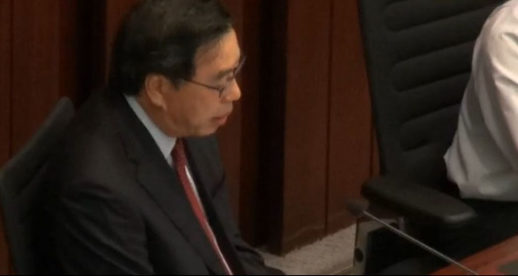 Legco elects had oaths rejected for inserting own remarks and allegedly swearing